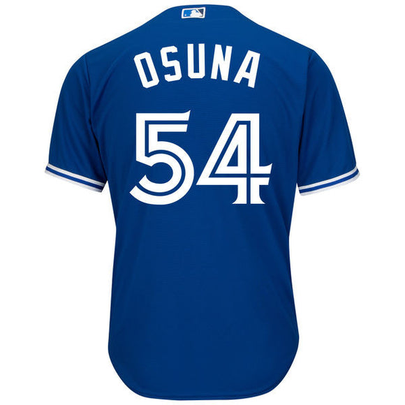 Men's Toronto Blue Jays Roberto Osuna Majestic Royal Official Cool Base Player Jersey - Bleacher Bum Collectibles, Toronto Blue Jays, NHL , MLB, Toronto Maple Leafs, Hat, Cap, Jersey, Hoodie, T Shirt, NFL, NBA, Toronto Raptors