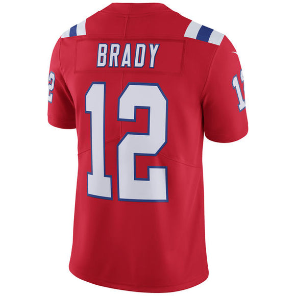 Men's New England Patriots Tom Brady Nike Red Vapor Untouchable Limited Player Jersey - Bleacher Bum Collectibles, Toronto Blue Jays, NHL , MLB, Toronto Maple Leafs, Hat, Cap, Jersey, Hoodie, T Shirt, NFL, NBA, Toronto Raptors