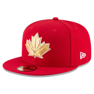 Men s Toronto Blue Jays New Era Red 2018 Stars   Stripes 4th of July ... 124f4f4a654