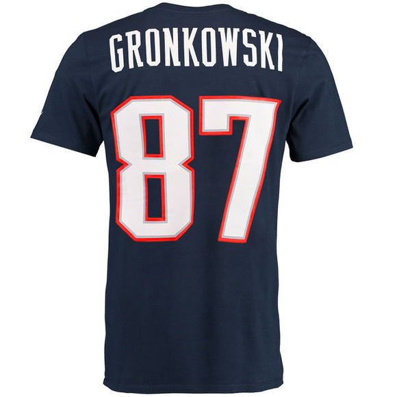 Men's New England Patriots Rob Gronkowski Nike Navy Blue Player Pride Name & Number T-Shirt - Bleacher Bum Collectibles, Toronto Blue Jays, NHL , MLB, Toronto Maple Leafs, Hat, Cap, Jersey, Hoodie, T Shirt, NFL, NBA, Toronto Raptors