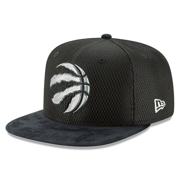 Men's Toronto Raptors New Era Black 2017 NBA Draft Official On Court Collection 9FIFTY Snapback Hat - Bleacher Bum Collectibles, Toronto Blue Jays, NHL , MLB, Toronto Maple Leafs, Hat, Cap, Jersey, Hoodie, T Shirt, NFL, NBA, Toronto Raptors