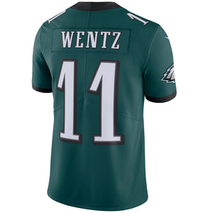 Men's Philadelphia Eagles Carson Wentz Nike Green Vapor Untouchable Limited Player Jersey - Bleacher Bum Collectibles, Toronto Blue Jays, NHL , MLB, Toronto Maple Leafs, Hat, Cap, Jersey, Hoodie, T Shirt, NFL, NBA, Toronto Raptors