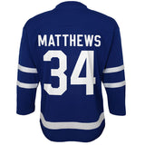 Infant Toronto Maple Leafs Auston Matthews Royal Premier - Age 12-24 Months Jersey - Bleacher Bum Collectibles, Toronto Blue Jays, NHL , MLB, Toronto Maple Leafs, Hat, Cap, Jersey, Hoodie, T Shirt, NFL, NBA, Toronto Raptors