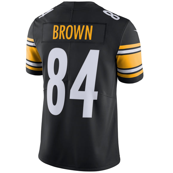 855bd6528 Men s Pittsburgh Steelers Antonio Brown Nike Black Vapor Untouchable  Limited Player Jersey - Bleacher Bum Collectibles