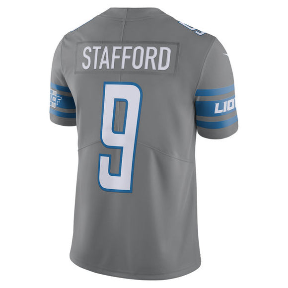 Men's Detroit Lions Matthew Stafford Nike Steel Vapor Untouchable Color Rush Limited Player Jersey - Bleacher Bum Collectibles, Toronto Blue Jays, NHL , MLB, Toronto Maple Leafs, Hat, Cap, Jersey, Hoodie, T Shirt, NFL, NBA, Toronto Raptors