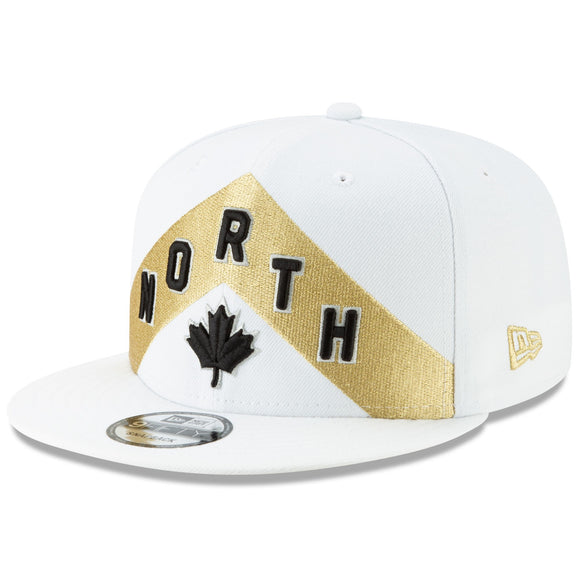 Men's Toronto Raptors New Era White 2018 City Edition 9FIFTY Snapback Adjustable Hat - Bleacher Bum Collectibles, Toronto Blue Jays, NHL , MLB, Toronto Maple Leafs, Hat, Cap, Jersey, Hoodie, T Shirt, NFL, NBA, Toronto Raptors
