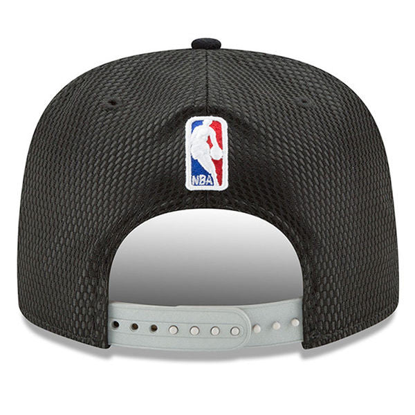 b8d68a4bce4 ... Men's Toronto Raptors New Era Black 2017 NBA Draft Official On Court  Collection 9FIFTY Snapback Hat ...