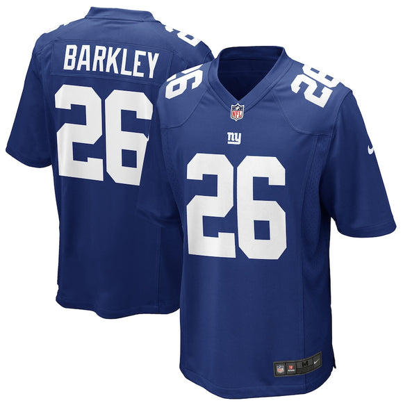 New York Giants Saquon Barkley Nike Youth Navy Blue Game NFL Football Jersey -  Multiple Sizes