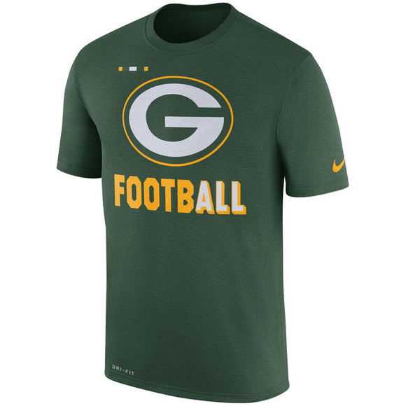 Men's Green Bay Packers Nike Green Sideline Legend Football Performance T-Shirt - Bleacher Bum Collectibles, Toronto Blue Jays, NHL , MLB, Toronto Maple Leafs, Hat, Cap, Jersey, Hoodie, T Shirt, NFL, NBA, Toronto Raptors