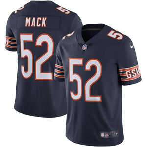 Men's Nike Khalil Mack Navy Chicago Bears Vapor Untouchable - Limited Player Jersey - Bleacher Bum Collectibles, Toronto Blue Jays, NHL , MLB, Toronto Maple Leafs, Hat, Cap, Jersey, Hoodie, T Shirt, NFL, NBA, Toronto Raptors
