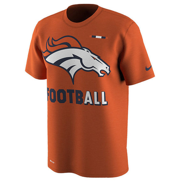 Men's Denver Broncos Nike Orange Sideline Legend Football Performance T-Shirt - Bleacher Bum Collectibles, Toronto Blue Jays, NHL , MLB, Toronto Maple Leafs, Hat, Cap, Jersey, Hoodie, T Shirt, NFL, NBA, Toronto Raptors
