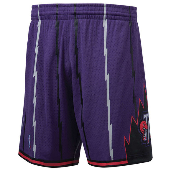 Men's Toronto Raptors Mitchell & Ness Purple Hardwood Classics Swingman Shorts - Bleacher Bum Collectibles, Toronto Blue Jays, NHL , MLB, Toronto Maple Leafs, Hat, Cap, Jersey, Hoodie, T Shirt, NFL, NBA, Toronto Raptors
