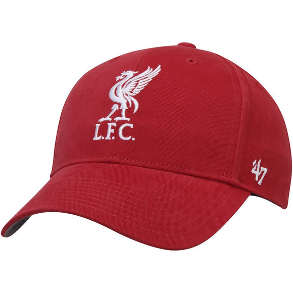Men's Liverpool Football Club EPL 47 Brand MVP Red Adjustable OSFM All Hat Cap - Bleacher Bum Collectibles, Toronto Blue Jays, NHL , MLB, Toronto Maple Leafs, Hat, Cap, Jersey, Hoodie, T Shirt, NFL, NBA, Toronto Raptors