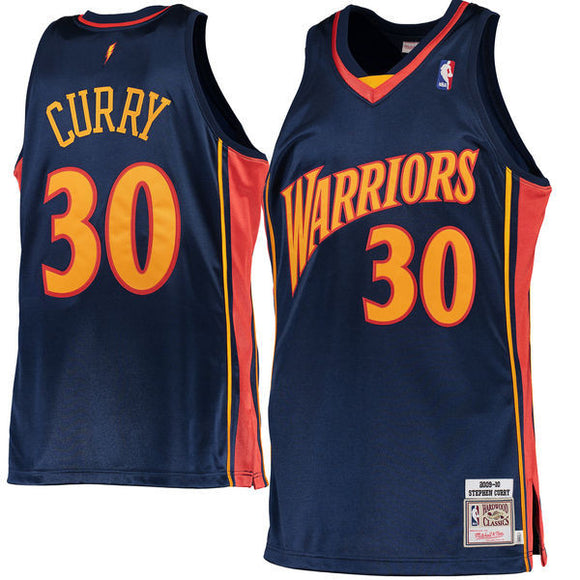 Men's Golden State Warriors Stephen Curry Mitchell & Ness Navy 2009-10 Hardwood Classics Rookie Authentic Jersey - Bleacher Bum Collectibles, Toronto Blue Jays, NHL , MLB, Toronto Maple Leafs, Hat, Cap, Jersey, Hoodie, T Shirt, NFL, NBA, Toronto Raptors