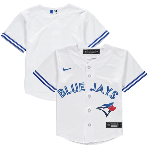 Toronto Blue Jays Nike Child Home 2020 Replica Team White Jersey - Multiple Sizes