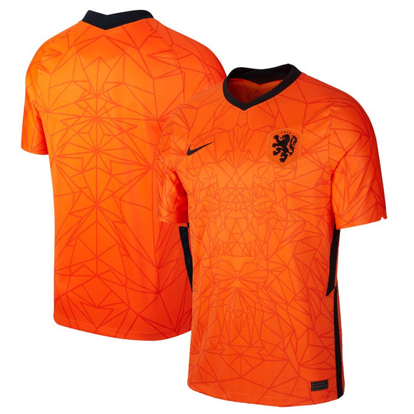 Netherlands National Team Nike 2020/21 Home Stadium Replica Jersey - Orange
