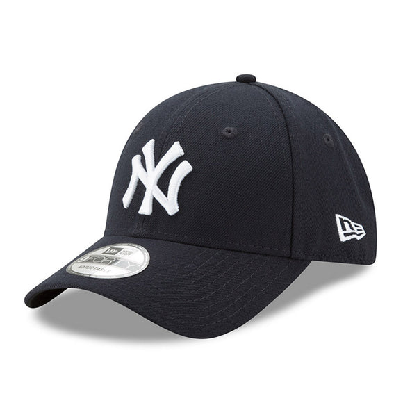 New York Yankees New Era Men's League 9Forty MLB Baseball Adjustable Hat - Navy
