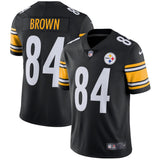 Men's Pittsburgh Steelers Antonio Brown Nike Black Vapor Untouchable Limited Player Jersey - Bleacher Bum Collectibles, Toronto Blue Jays, NHL , MLB, Toronto Maple Leafs, Hat, Cap, Jersey, Hoodie, T Shirt, NFL, NBA, Toronto Raptors