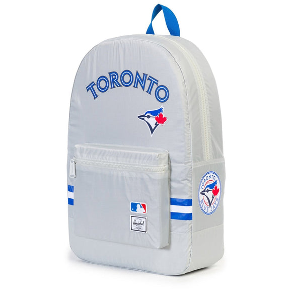 Toronto Blue Jays MLB Baseball Herschel Supply Co. Packable Daypack Backpack - Bleacher Bum Collectibles, Toronto Blue Jays, NHL , MLB, Toronto Maple Leafs, Hat, Cap, Jersey, Hoodie, T Shirt, NFL, NBA, Toronto Raptors