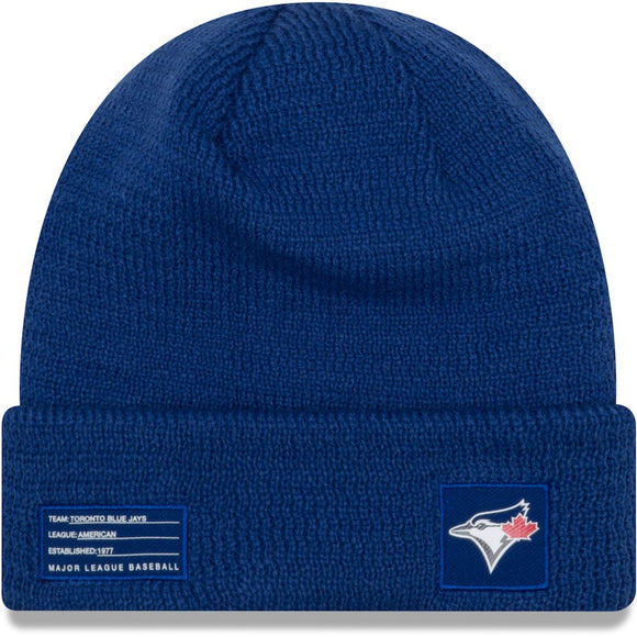 a6166a00b49 Men s Toronto Blue Jays New Era Royal On-Field Sport Cuffed Knit Toque  Beanie Hat
