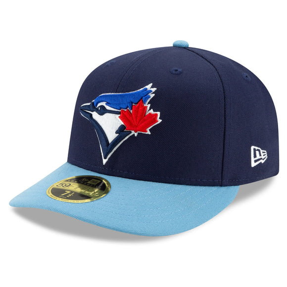Men's Toronto Blue Jays New Era Navy Alternate 4 Authentic Collection On-Field Low Profile 59FIFTY Fitted Hat - Bleacher Bum Collectibles, Toronto Blue Jays, NHL , MLB, Toronto Maple Leafs, Hat, Cap, Jersey, Hoodie, T Shirt, NFL, NBA, Toronto Raptors