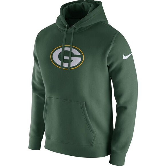 Men's Nike Green Green Bay Packers Club Fleece Logo Pullover Hoodie - Bleacher Bum Collectibles, Toronto Blue Jays, NHL , MLB, Toronto Maple Leafs, Hat, Cap, Jersey, Hoodie, T Shirt, NFL, NBA, Toronto Raptors