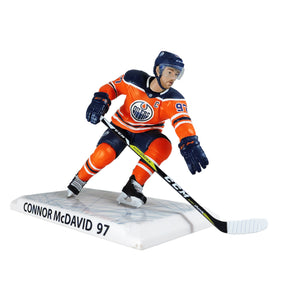 "Connor McDavid Edmonton Oilers 2018-19 Imports Dragon 6"" Player Replica Figurine - Bleacher Bum Collectibles, Toronto Blue Jays, NHL , MLB, Toronto Maple Leafs, Hat, Cap, Jersey, Hoodie, T Shirt, NFL, NBA, Toronto Raptors"