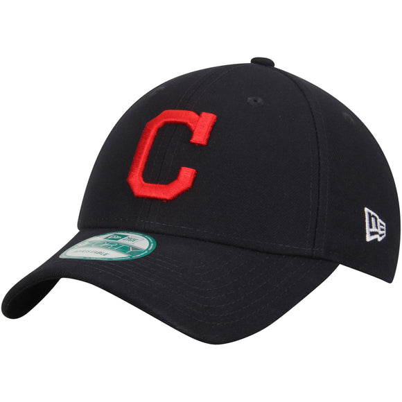 Cleveland Indians New Era Men's League 9Forty MLB Baseball Adjustable Hat - Current