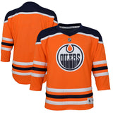 Edmonton Oilers Orange Premier Toddler Ages 2 to 4T - Blank Hockey Jersey - Bleacher Bum Collectibles, Toronto Blue Jays, NHL , MLB, Toronto Maple Leafs, Hat, Cap, Jersey, Hoodie, T Shirt, NFL, NBA, Toronto Raptors