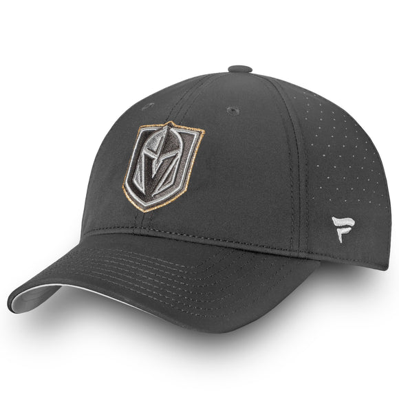 Fanatics Branded Vegas Golden Knights Gray Authentic Pro Clutch Fundamental Adjustable Hat - Bleacher Bum Collectibles, Toronto Blue Jays, NHL , MLB, Toronto Maple Leafs, Hat, Cap, Jersey, Hoodie, T Shirt, NFL, NBA, Toronto Raptors