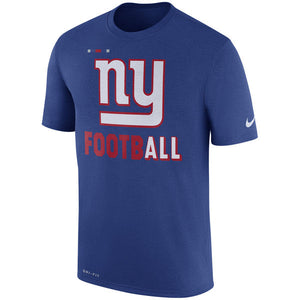 Men's New York Giants Nike Royal Sideline Legend Football Performance T-Shirt - Bleacher Bum Collectibles, Toronto Blue Jays, NHL , MLB, Toronto Maple Leafs, Hat, Cap, Jersey, Hoodie, T Shirt, NFL, NBA, Toronto Raptors