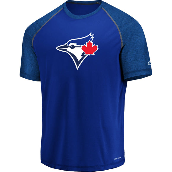 Men's Toronto Blue Jays Majestic Royal Got the Word Cool Base T-Shirt - Bleacher Bum Collectibles, Toronto Blue Jays, NHL , MLB, Toronto Maple Leafs, Hat, Cap, Jersey, Hoodie, T Shirt, NFL, NBA, Toronto Raptors