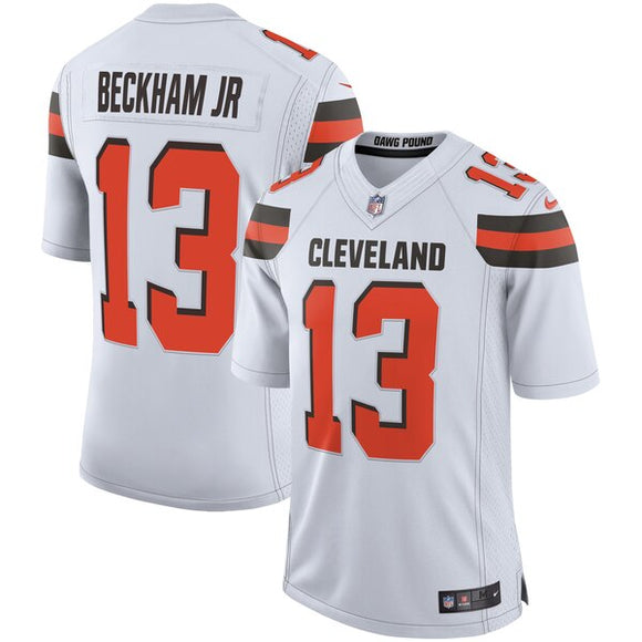 Men's Nike Odell Beckham Jr White Cleveland Browns Limited NFL Football - Player Jersey - Bleacher Bum Collectibles, Toronto Blue Jays, NHL , MLB, Toronto Maple Leafs, Hat, Cap, Jersey, Hoodie, T Shirt, NFL, NBA, Toronto Raptors