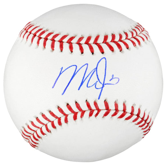 Mike Trout Los Angeles Angels Autographed MLB Official Rawlings Baseball
