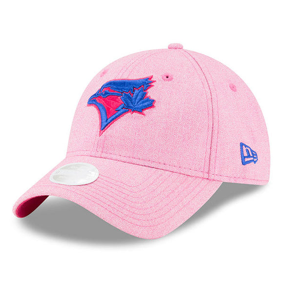 Women's Toronto Blue Jays New Era Pink 2018 Mother's Day 9TWENTY Adjustable Hat - Bleacher Bum Collectibles, Toronto Blue Jays, NHL , MLB, Toronto Maple Leafs, Hat, Cap, Jersey, Hoodie, T Shirt, NFL, NBA, Toronto Raptors