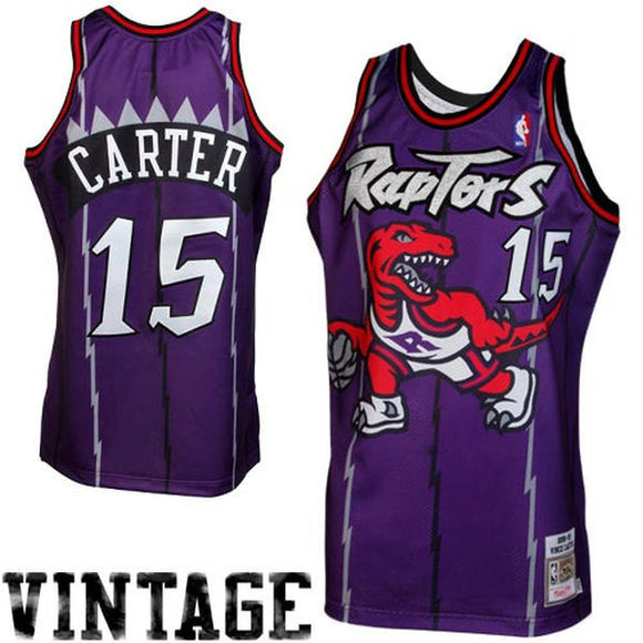 Mitchell & Ness Vince Carter Toronto Raptors 1998-1999 Throwback Authentic Jersey - Purple - Bleacher Bum Collectibles, Toronto Blue Jays, NHL , MLB, Toronto Maple Leafs, Hat, Cap, Jersey, Hoodie, T Shirt, NFL, NBA, Toronto Raptors