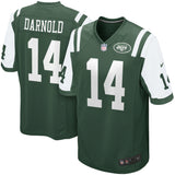 Men's New York Jets Sam Darnold Nike Green 2018 NFL Draft First Round Pick Game Jersey - Bleacher Bum Collectibles, Toronto Blue Jays, NHL , MLB, Toronto Maple Leafs, Hat, Cap, Jersey, Hoodie, T Shirt, NFL, NBA, Toronto Raptors