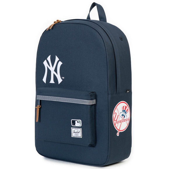 New York Yankees MLB Baseball Herschel Supply Co. Heritage Navy Backpack