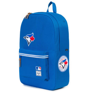 Toronto Blue Jays MLB Baseball Herschel Supply Co. Heritage Blue Backpack - Bleacher Bum Collectibles, Toronto Blue Jays, NHL , MLB, Toronto Maple Leafs, Hat, Cap, Jersey, Hoodie, T Shirt, NFL, NBA, Toronto Raptors