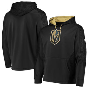 Men's Vegas Golden Knights Majestic Armor Therma Base Pullover Hoodie – Black/Gold - Bleacher Bum Collectibles, Toronto Blue Jays, NHL , MLB, Toronto Maple Leafs, Hat, Cap, Jersey, Hoodie, T Shirt, NFL, NBA, Toronto Raptors