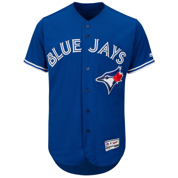 Men's Toronto Blue Jays Majestic Alternate Bright Royal Flex Base Authentic Collection Team Jersey - Bleacher Bum Collectibles, Toronto Blue Jays, NHL , MLB, Toronto Maple Leafs, Hat, Cap, Jersey, Hoodie, T Shirt, NFL, NBA, Toronto Raptors