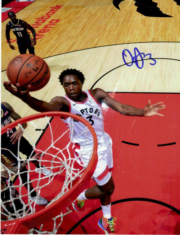 OG Anunoby Toronto Raptors Autographed NBA Basketball 11x14 Photo Picture - Multiple Poses