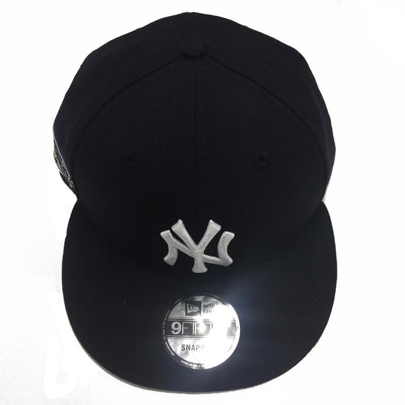 Men's New York Yankees Aaron Judge Side Patch New Era Black/Navy 9FIFTY Custom Snapback Hat - Bleacher Bum Collectibles, Toronto Blue Jays, NHL , MLB, Toronto Maple Leafs, Hat, Cap, Jersey, Hoodie, T Shirt, NFL, NBA, Toronto Raptors