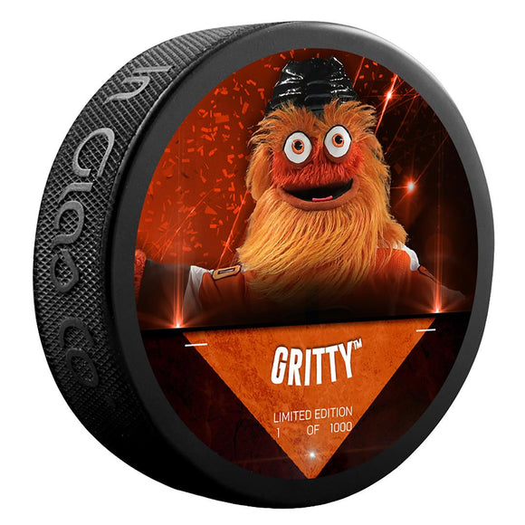 Gritty Philadelphia Flyers Unsigned Fanatics Exclusive Mascot Hockey Puck - Limited Edition of 1000