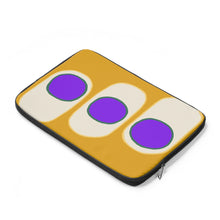 Three purple circles - Laptop Sleeve
