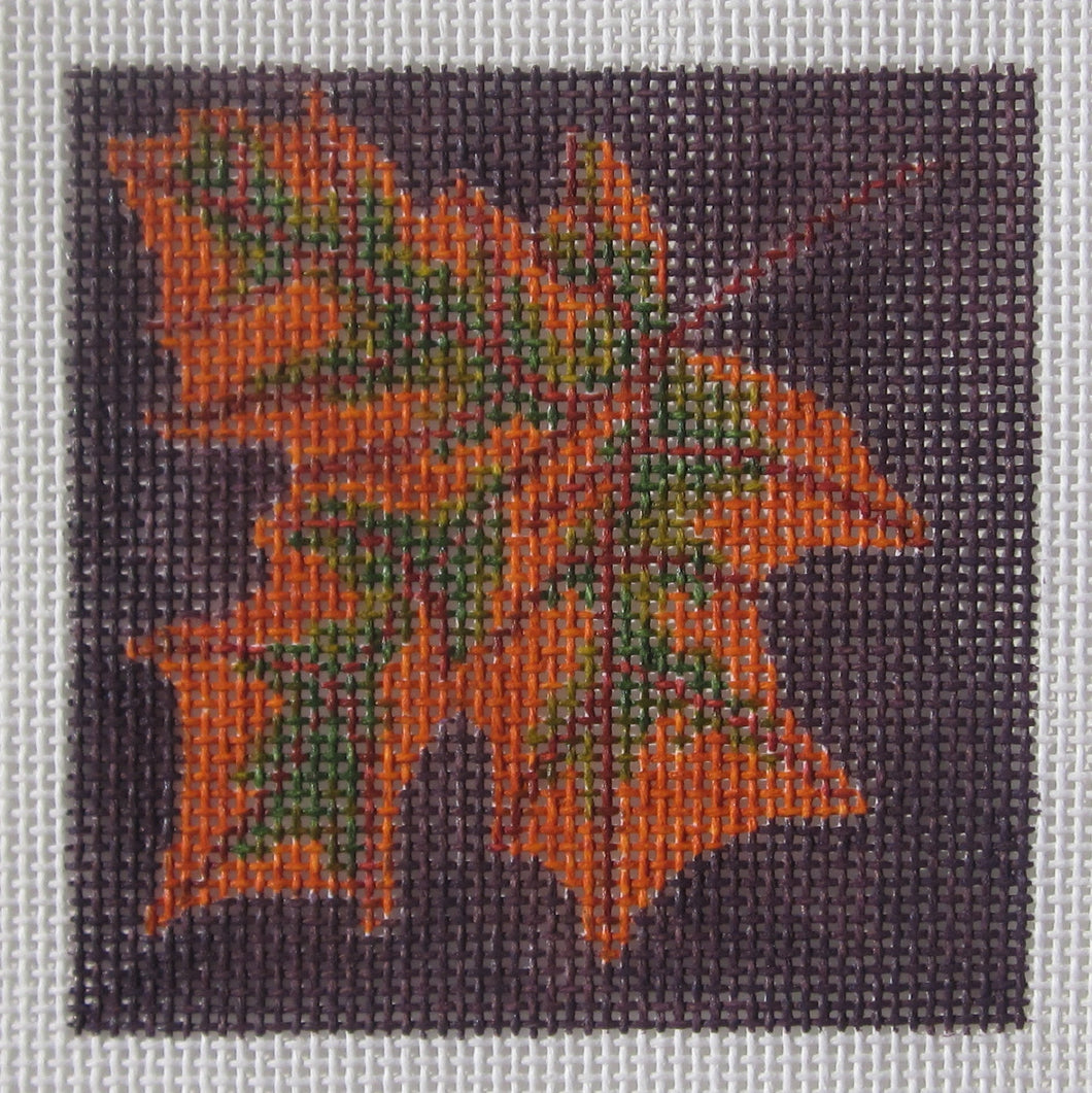 3x3-001 Autumn Leaf