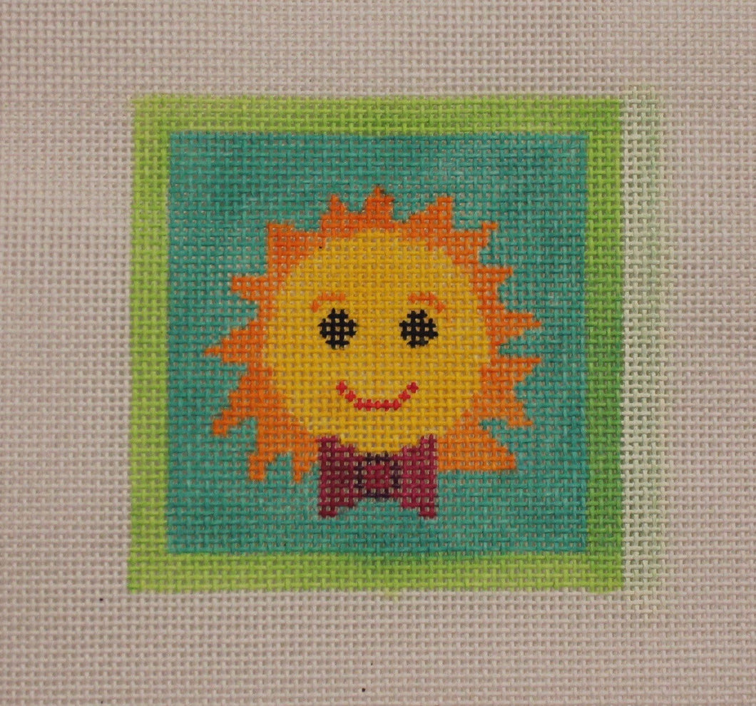 3x3-011 Sun with bowtie