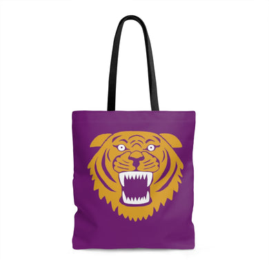 Wildcat with purple background - Tote Bag