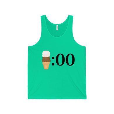 It's ice cream o'clock - Unisex Jersey Tank