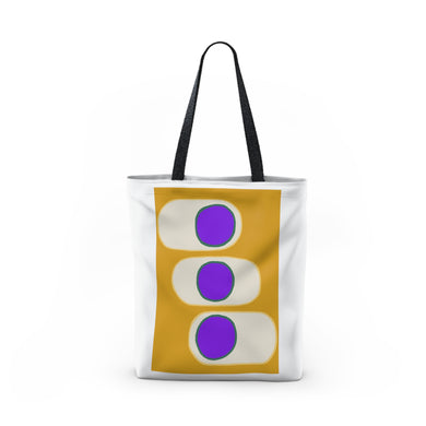 Three purple circles - Tote Bag